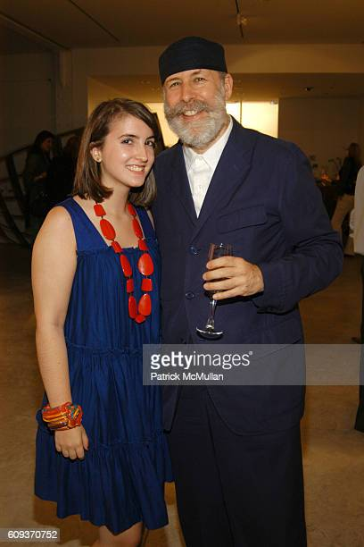 Natalie Friedman and Barry Friedman attend Ettore Sottsass New Works 2005 – 2007 Ron Arad Restless Opening at Friedman Benda on September 19 2007 in...