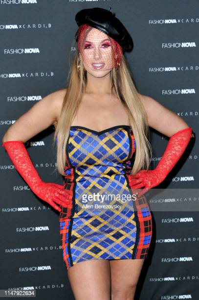 Natalie Friedman attends Fashion Nova x Cardi B Collection launch party at Hollywood Palladium on May 08 2019 in Los Angeles California