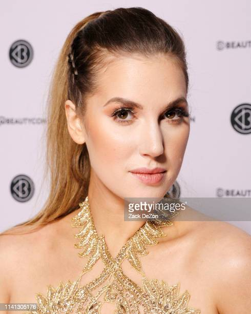 Natalie Friedman poses for a portrait during day 1 of Beautycon Festival New York on April 06 2019 in New York City