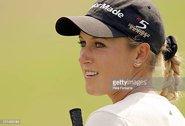 Natalie Gulbis during ProAm Day of the Weetabix Women's British Open at the Sunningdale Golf Club July 28 2004