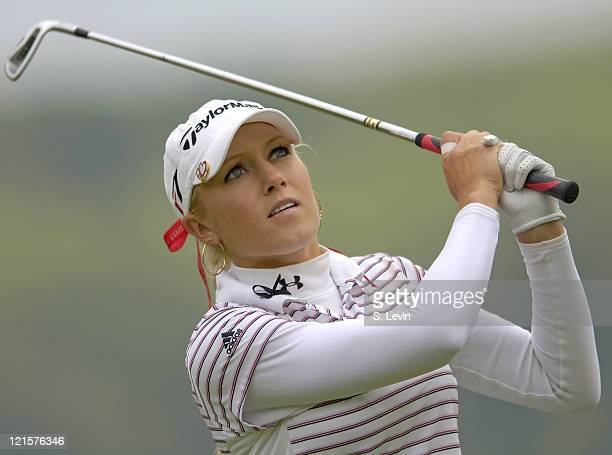 Natalie Gulbis during the first round of the 2006 Corning Classic at the Corning Country Club in Corning NY on Thursday May 25 2006