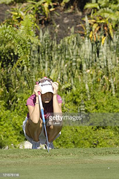 Natalie Gulbis during the third round of the ADT Championship at the Trump International Golf Club in West Palm Beach Florida on Saturday November 18...