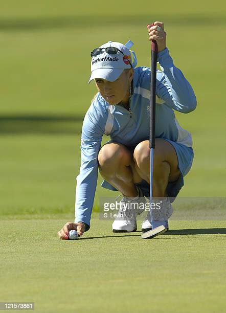 Natalie Gulbis during the third round of the Canadian Women's Open at the London Hunt and Country Club in London Ontario on August 12 2006