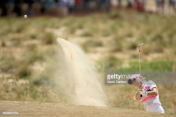 Natalie Gulbis of the USA plays her third shot at the par 4 12th hole during the second round of the 69th US Women's Open at Pinehurst Resort Country...