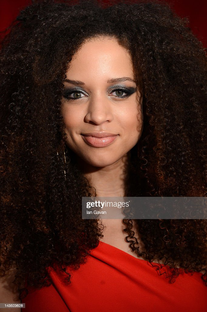 Natalie Gumede attends The 2012 British Soap Awards at ITV Studios on April 28, 2012 in London, England.