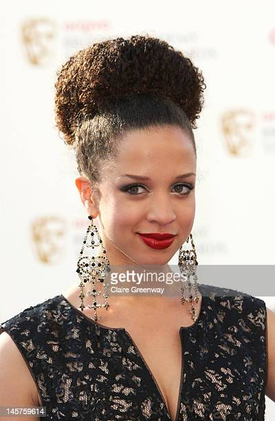 Natalie Gumede attends The Arqiva British Academy Television Awards 2012 at The Royal Festival Hall on May 27 2012 in London England