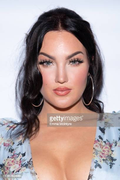 Natalie Halcro attends the NatLiv Comino Collection Launch at The Little Door on March 27 2019 in Los Angeles California