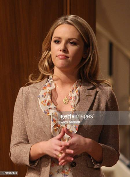 CHILDREN Natalie Hall in a scene that airs the week of March 1 2010 on ABC Daytime's 'All My Children' 'All My Children' airs MondayFriday on the ABC...