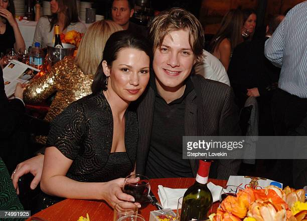 Natalie Hanson and Taylor Hanson at Entertainment Weekly 13th Annual Academy Awards Viewing Party at Elaine's