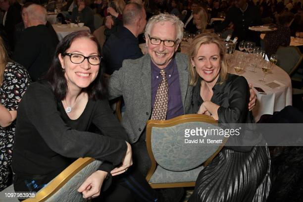 Natalie Haynes David Benedict and Jojo Moyes attend Damian Barr's Literary Salon at The Savoy Hotel on February 11 2019 in London England
