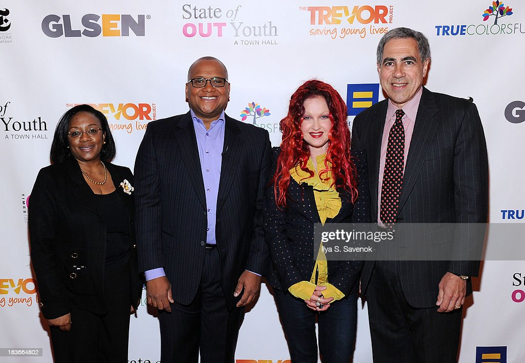 New York Times 'State of OUT Youth' Town Hall : News Photo