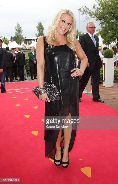 Natalie Horler attends the CHIO 2014 media night on July 15 2014 in Aachen Germany