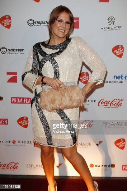 Natalie Horler attends the music meets media party on September 7 2012 in Berlin Germany