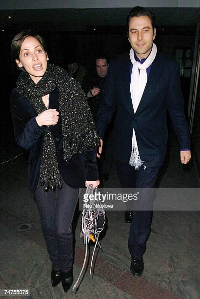 Natalie Imbruglia and David Walliams at the David Walliams and Natalie Imbruglia Sighting at Nobu in London - February 26, 2006 at Nobu Restaurant in...