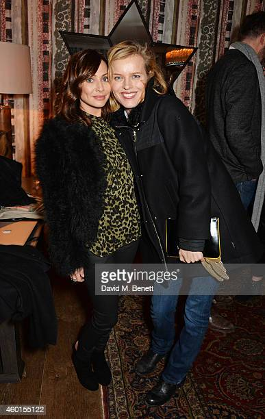 Natalie Imbruglia and Eva Herzigova attend a VIP screening of 'St Vincent' hosted by Poppy Delevingne at The Covent Garden Hotel on December 8 2014...