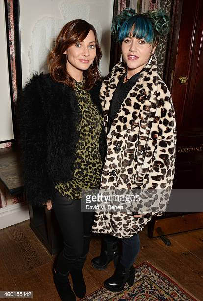 Natalie Imbruglia and Jaime Winstone attend a VIP screening of 'St Vincent' hosted by Poppy Delevingne at The Covent Garden Hotel on December 8 2014...