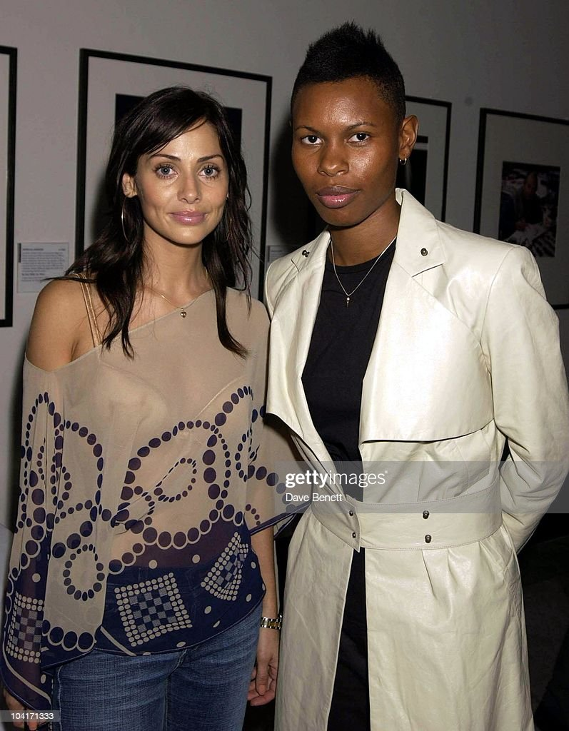 Natalie Imbruglia And Skin (from Skunk Anansie), Fashion Photographer Mario Testino Attracted All The Most Glamorous Women In London To His Exhibition At The National Portrait Gallery.