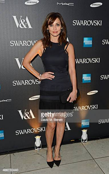 Natalie Imbruglia arrives at the Alexander McQueen Savage Beauty VIP private view at the Victoria and Albert Museum on March 14 2015 in London England