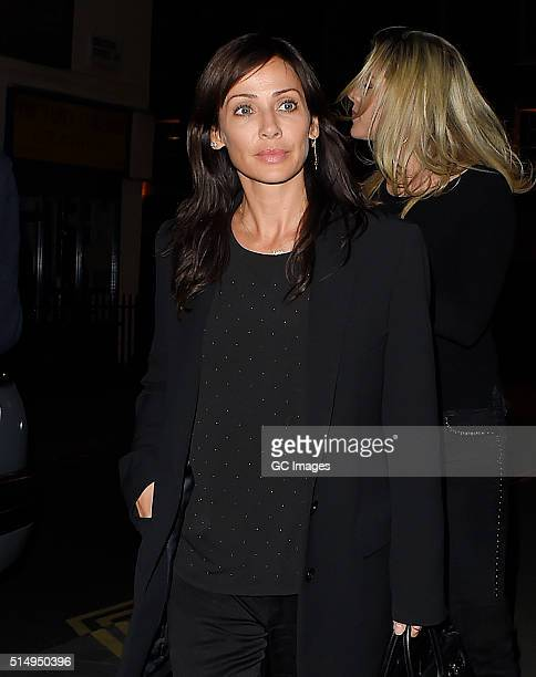 Natalie Imbruglia arrives at The Chiltern Firehouse on March 11 2016 in London England