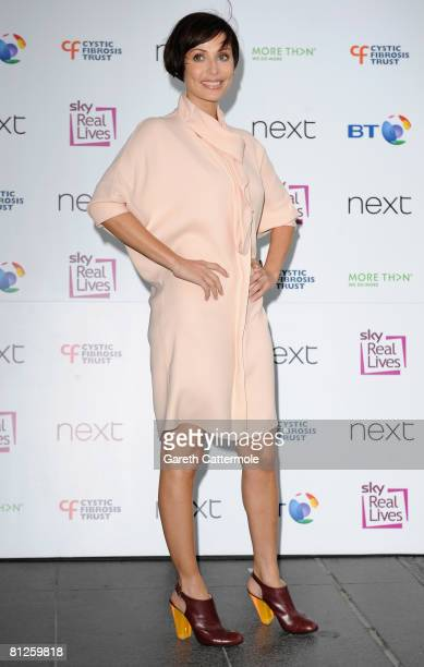 Natalie Imbruglia arrives at the Cystic Fibrosis Trust Breathing Life Awards on May 28 2008 in London England