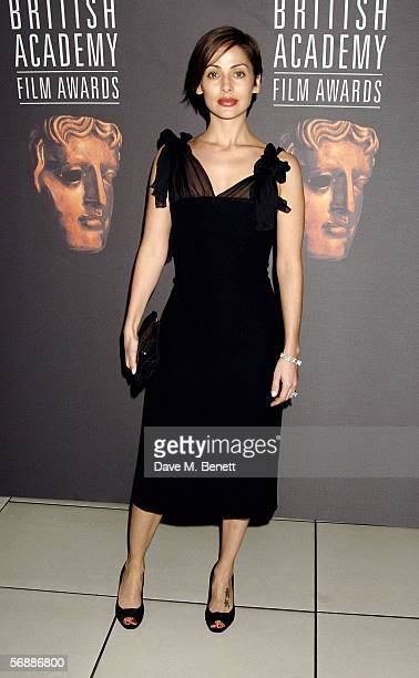 Natalie Imbruglia arrives at The Orange British Academy Film Awards at the Odeon Leicester Square on February 19 2006 in London England