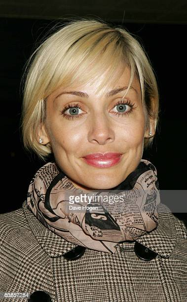 Natalie Imbruglia arrives at the UK premiere of Ano Una at Curzon Renoir Cinema on November 29 2008 in London England
