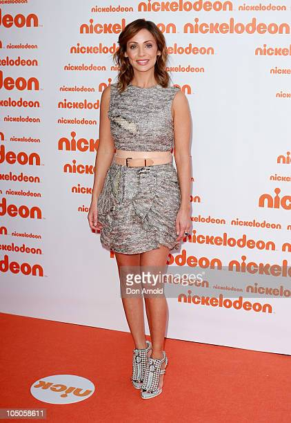 Natalie Imbruglia arrives for the Australian Nickelodeon Kids' Choice Awards 2010 at the Sydney Entertainment Centre on October 8 2010 in Sydney...