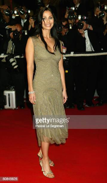 Natalie Imbruglia arrives to the premiere of Kill Bill II at the Palais des Festivals during the 57th Annual International Cannes Film Festival May...