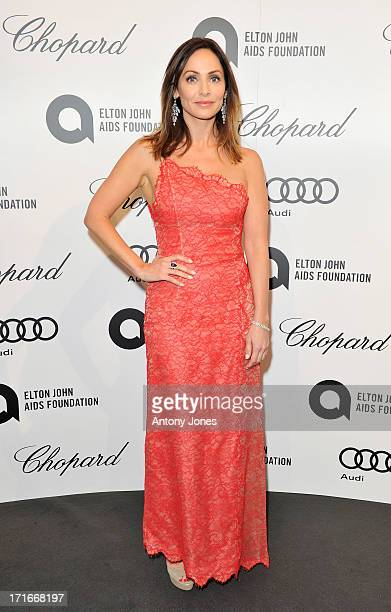 Natalie Imbruglia attends the 15th Annual White Tie and Tiara Ball to Benefit Elton John AIDS Foundation in Association with Chopard at Woodside on...