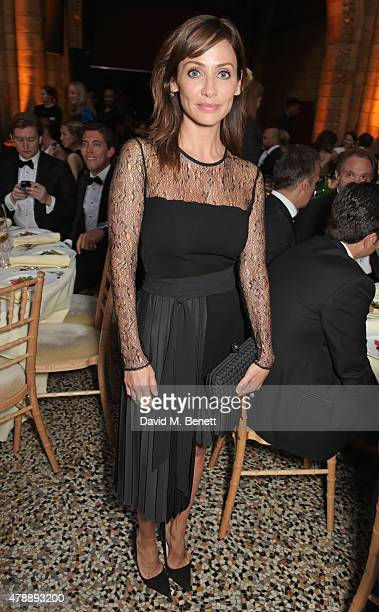 Natalie Imbruglia attends the 2015 FIA Formula E Visa London ePrix Gala Dinner at the Natural History Museum on June 28 2015 in London England