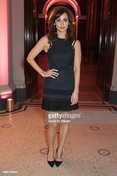 Natalie Imbruglia attends the Alexander McQueen Savage Beauty VIP private view at the Victoria and Albert Museum on March 14 2015 in London England