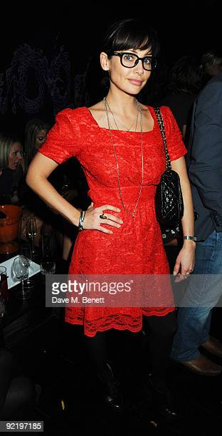 Natalie Imbruglia attends the ChinaWhite reopening party on October 21 2009 in London England