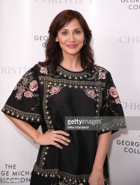Natalie Imbruglia attends The George Michael Collection VIP Reception at Christies on March 12 2019 in London England
