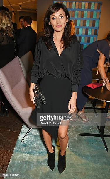 Natalie Imbruglia attends the opening dinner for 12 Hay Hill hosted by 12 Hay Hill CEO Heather Kerzner and Jeanette Calliva on October 20 2015 in...