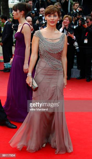 Natalie Imbruglia attends the Opening Night Premiere of 'Robin Hood' at the Palais des Festivals during the 63rd Annual International Cannes Film...