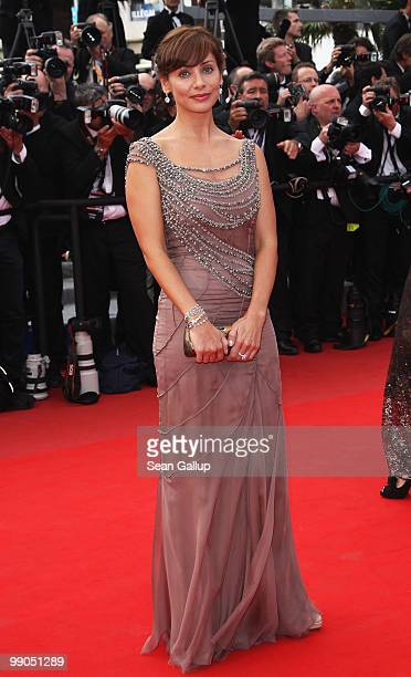 Natalie Imbruglia attends the 'Robin Hood' Premiere at the Palais des Festivals during the 63rd Annual Cannes Film Festival on May 12 2010 in Cannes...