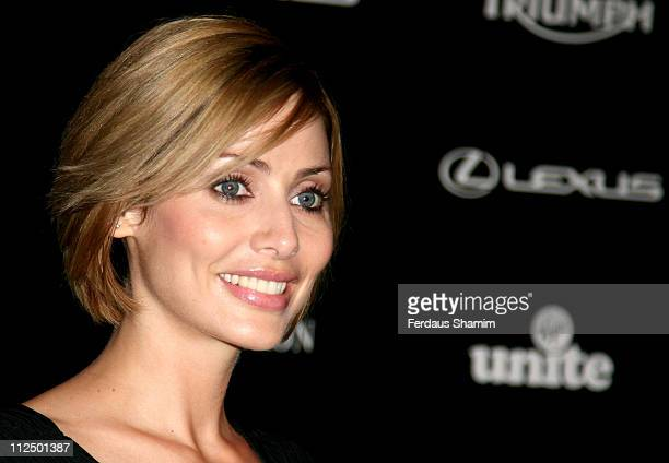 Natalie Imbruglia during 2006 Nobu Fundraising Ball at Nobu in London Great Britain