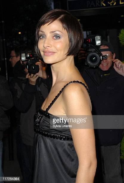 Natalie Imbruglia during Fragrance Foundation UK FIFI Awards 2007 Outside Arrivals at Dorchester Hotel in London Great Britain