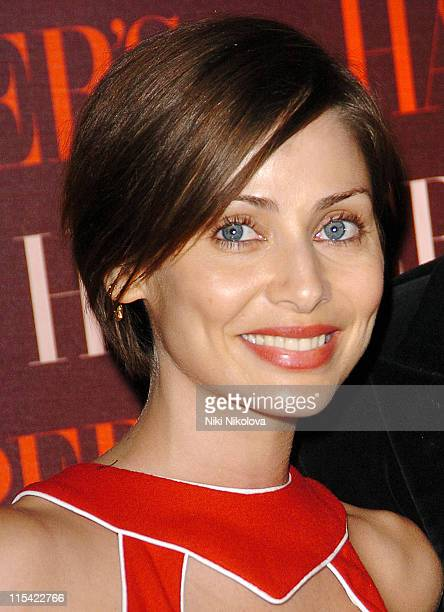 Natalie Imbruglia during Harper's Bazaar Celebrates the First Issue of British Bazaar Arrivals at Cirque Leicester Square in London Great Britain