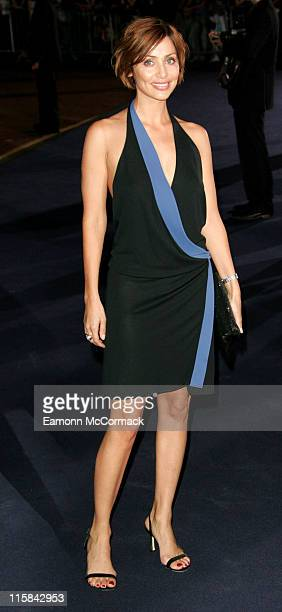 Natalie Imbruglia during London Fashion Week Spring/Summer 2007 Emporio Armani One Night Only Red Carpet at Brompton Hall in London Great Britain