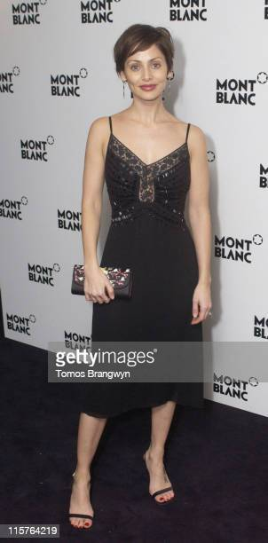 Natalie Imbruglia during Montblanc 100th Anniversary Party at Royal Horticultural Halls in London Great Britain