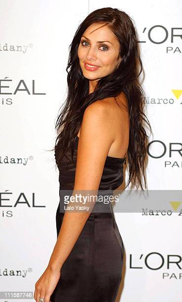 Natalie Imbruglia during Natalie Imbruglia Hosts L'Oreal Party to Celebrate Pasarela Cibeles Fashion Week at Museo del Traje in Madrid Spain