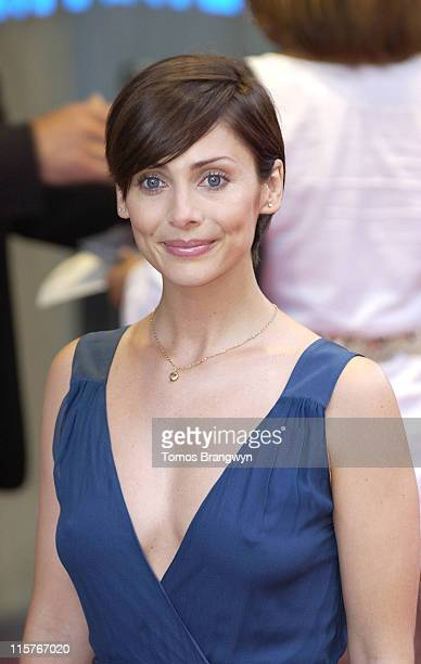 Natalie Imbruglia during Pirates of The Caribbean 2 Dead Man's Chest London Premiere at Odeon Leicester Square in London Great Britain