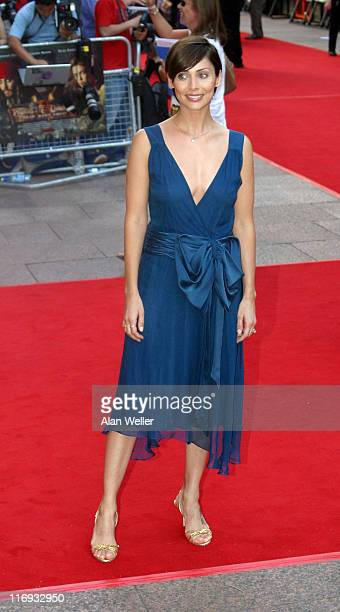 Natalie Imbruglia during 'Pirates Of The Caribbean 2 Dead Man's Chest' London Premiere Outside Arrivals at Odeon Leicester Square in London Great...