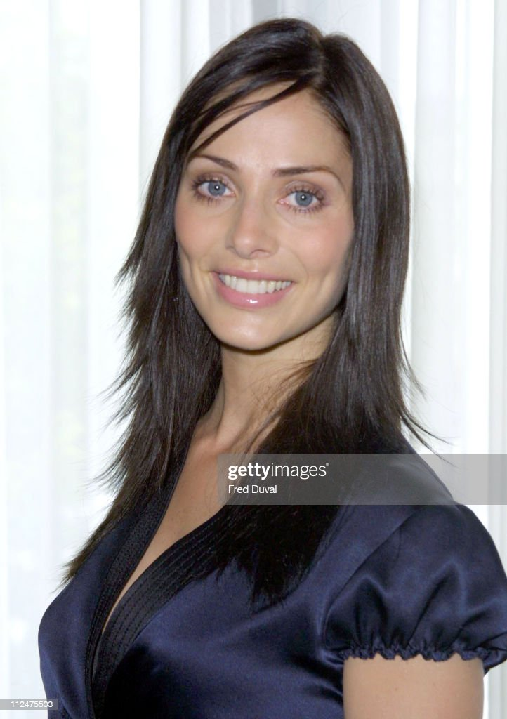 Natalie Imbruglia during Silver Clef Awards Promotion in London, Great Britain.