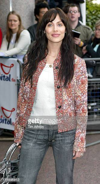 Natalie Imbruglia during The 2005 95.8 Capital FM Awards - Outside Arrivals at Royal Lancaster Hotel in London, Great Britain.