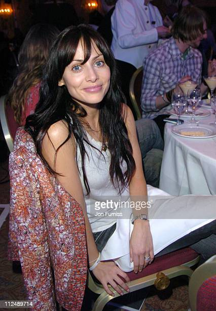 Natalie Imbruglia during The 2005 958 Capital FM Awards Show and Awards at The Royal Lancaster Hotel in London United Kingdom