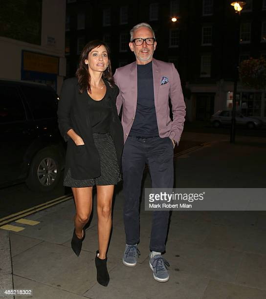 Natalie Imbruglia is seen at the Chiltern Firehouse on August 25 2015 in London England