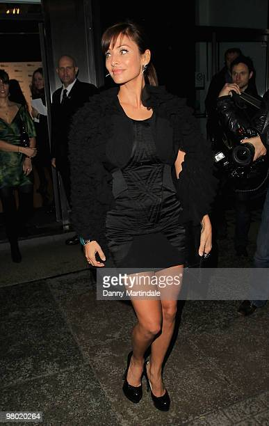 Natalie Imbruglia is seen on March 24 2010 in London England