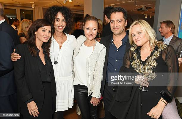 Natalie Imbruglia Jeanette Calliva Anna Matthews Alejandro Benigni and Pip Gill attend the opening dinner for 12 Hay Hill hosted by 12 Hay Hill CEO...